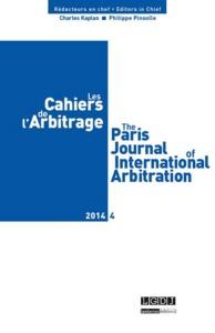 LES CAHIERS DE L ARBITRAGE N 4 - 2014