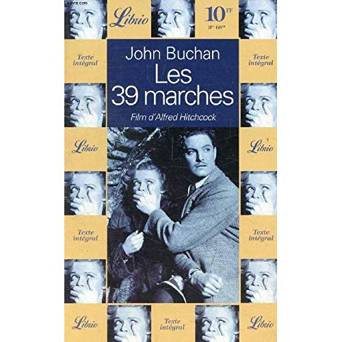 TRENTE NEUF MARCHES (LES) - - FILM D'ALFRED HITCHCOCK