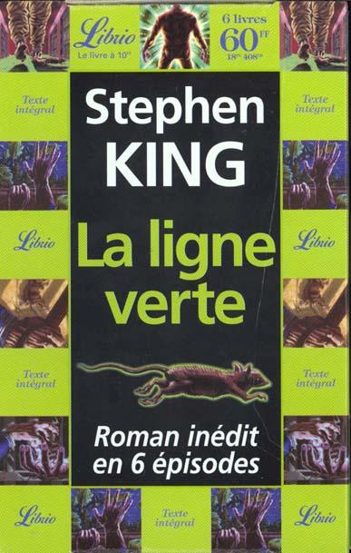 COFFRET LIGNE VERTE DE STEPHEN KING 6VOLS