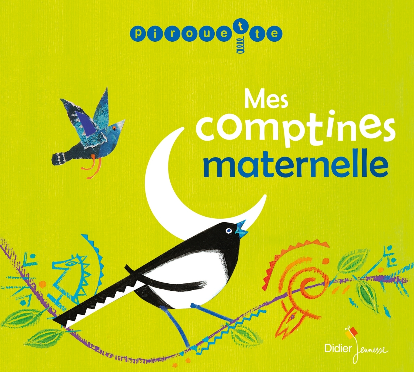 MES COMPTINES MATERNELLE (CD)