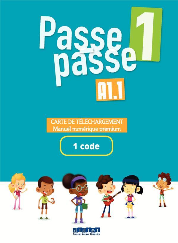 Passe - passe niv.1 - carte de telechargement - pack numerique enseignant