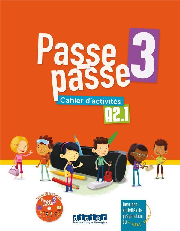 Passe - passe niv. 3 -  cahier + cd