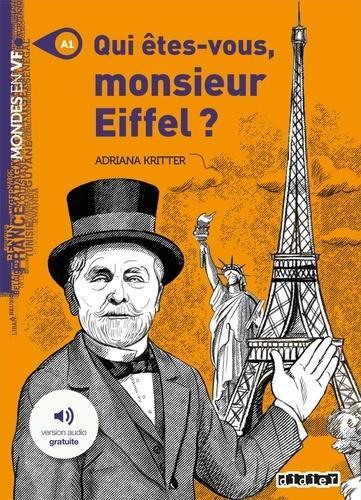 Qui etes-vous monsieur eiffel ? - livre + mp3