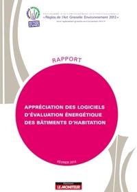 APPRECIATION DES LOGICIELS D'EVALUATION ENERGETIQUE DES BATIMENTS D'HABITATION