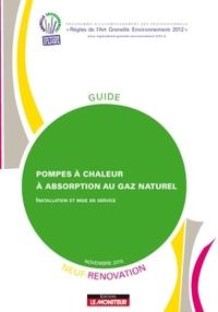 POMPES A CHALEUR A ABSORPTION AU GAZ NATUREL - NEUF ET RENOVATION - INSTALLATION ET MISE EN SERVICE