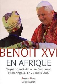 BENOIT XVI EN AFRIQUE