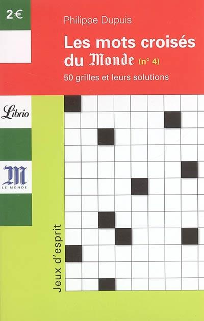 MOTS CROISES T.4 - 50 GRILLES ET LEUR SOLUTIONS