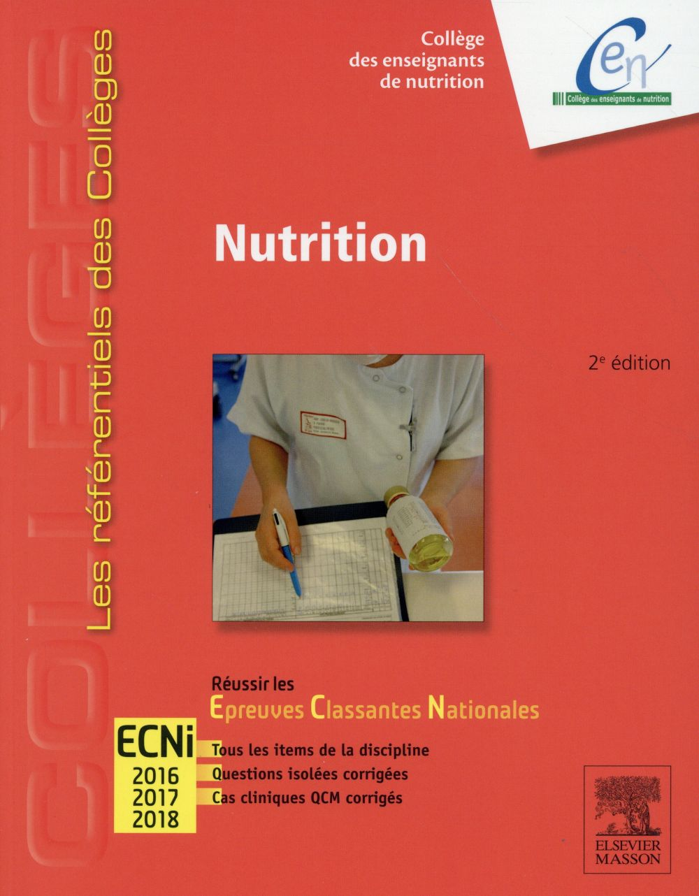 NUTRITION - REUSSIR LES ECNI