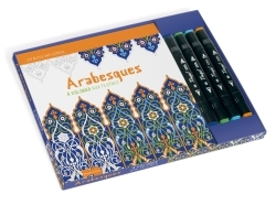 ARABESQUES A COLORIER AUX FEUTRES