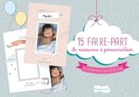 15 FAIRE-PART DE NAISSANCE A PERSONNALISER