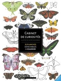 CABINET DE CURIOSITES - 70 PLANCHES POUR S'INSPIRER ET COLORIER