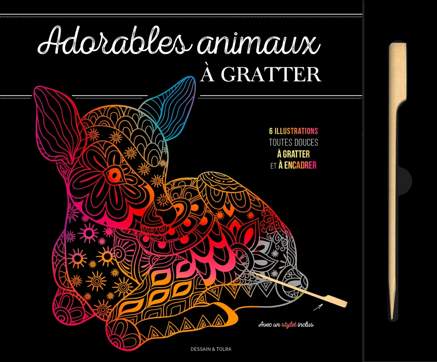 ADORABLES ANIMAUX A GRATTER