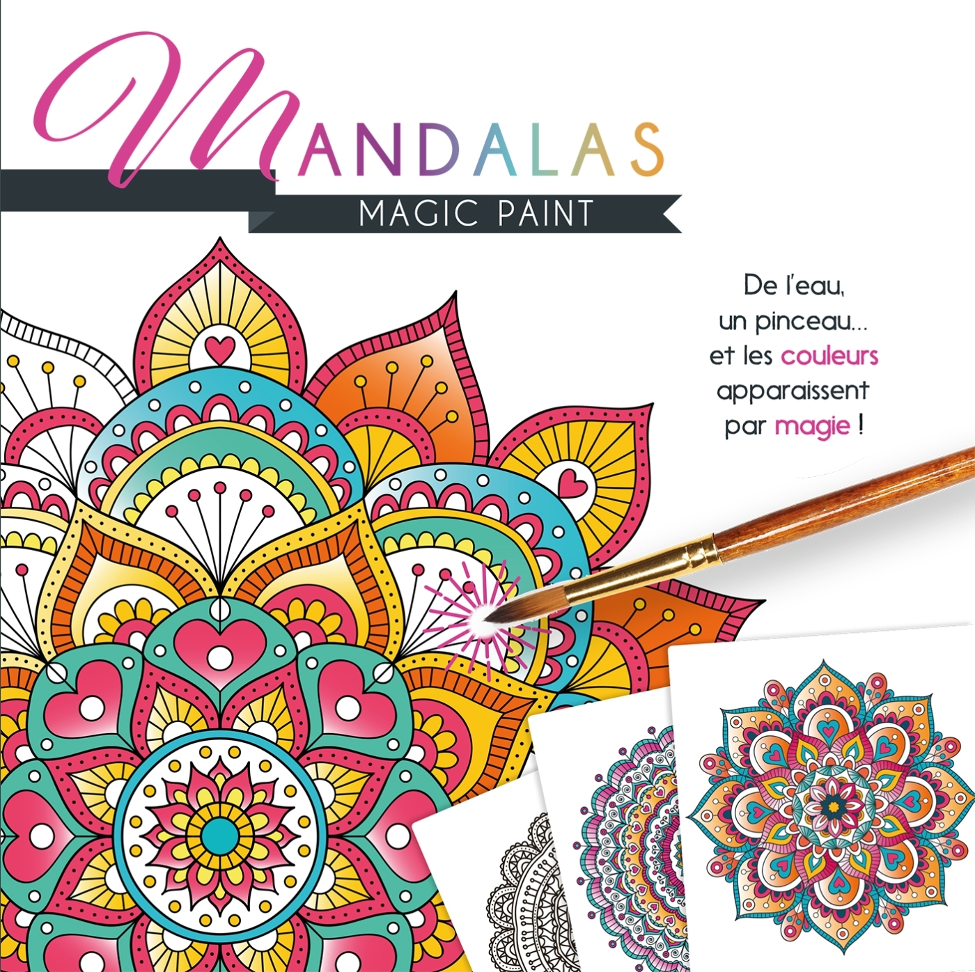 MAGIC PAINT MANDALAS