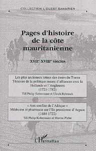 Pages d'histoire de la côte mauritanienne