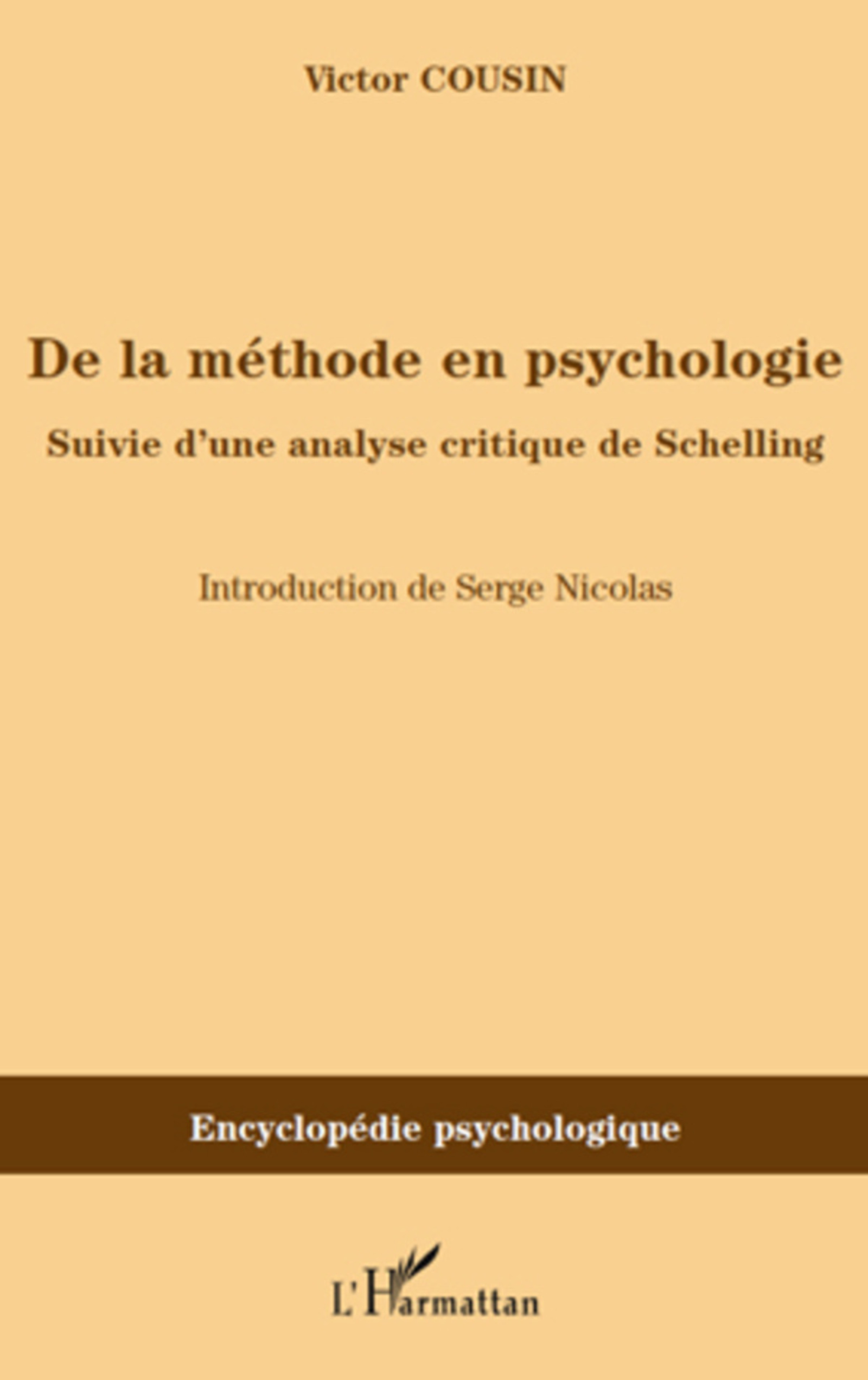 De la méthode en psychologie