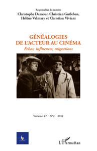 GENEALOGIES DE L'ACTEUR AU