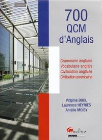 700 QCM D'ANGLAIS - GRAMMAIRE ANGLAISE - VOCABULAIRE - CIVILISATION ANGLAISE - CIVILISATION AMERICAI