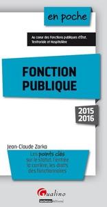 FONCTION PUBLIQUE 2015-2016