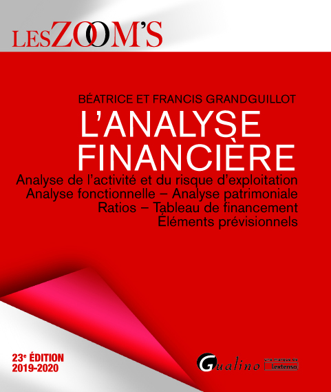 L'ANALYSE FINANCIERE - ANALYSE DE L'ACTIVITE ET DU RISQUE D'EXPLOITATION - ANALYSE FONCTIONNELLE - A