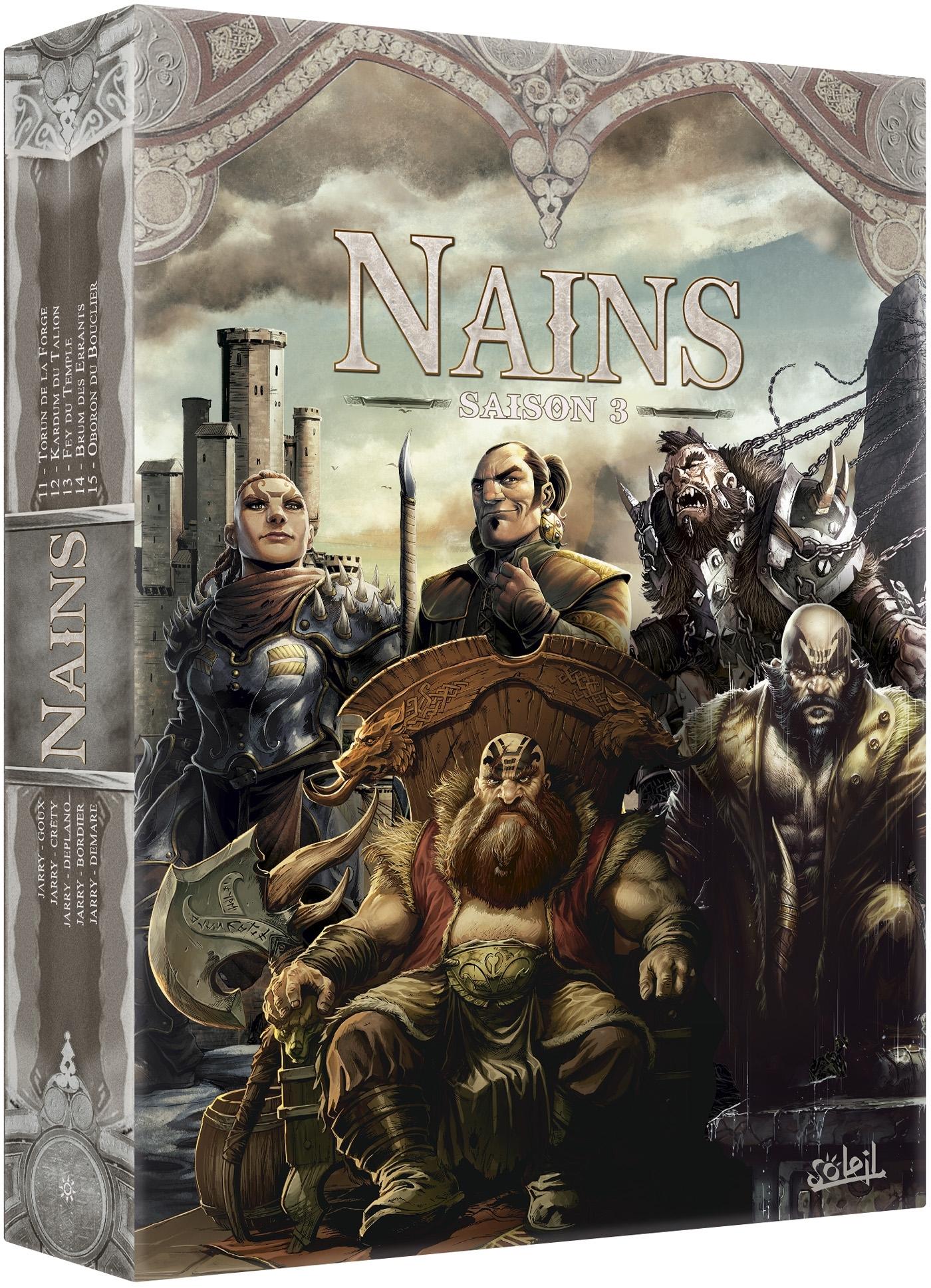 NAINS - COFFRET T11 A T15