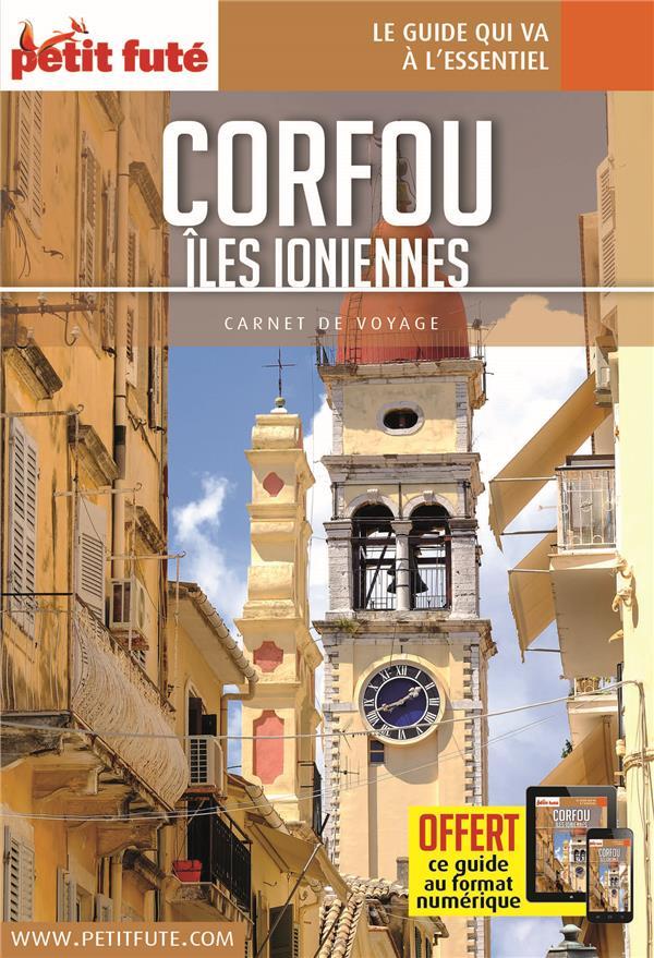 Corfou / iles ioniennes  carnet 2020 petit fute + offre num
