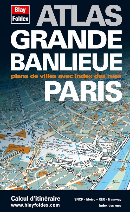ATLAS GRANDE BANLIEUE PARIS