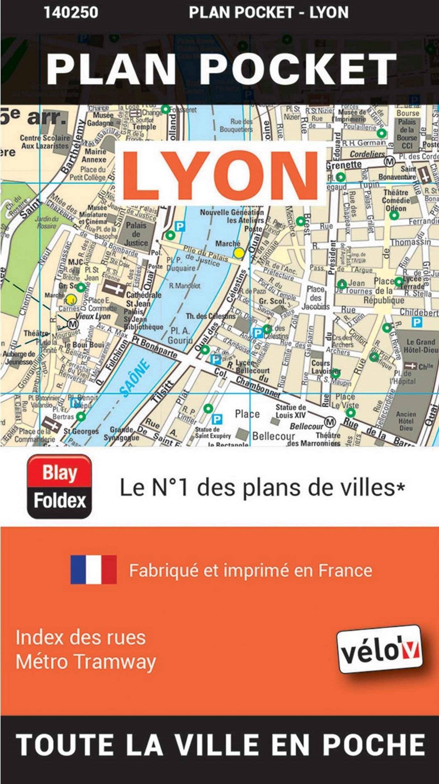LYON PLAN POCKET