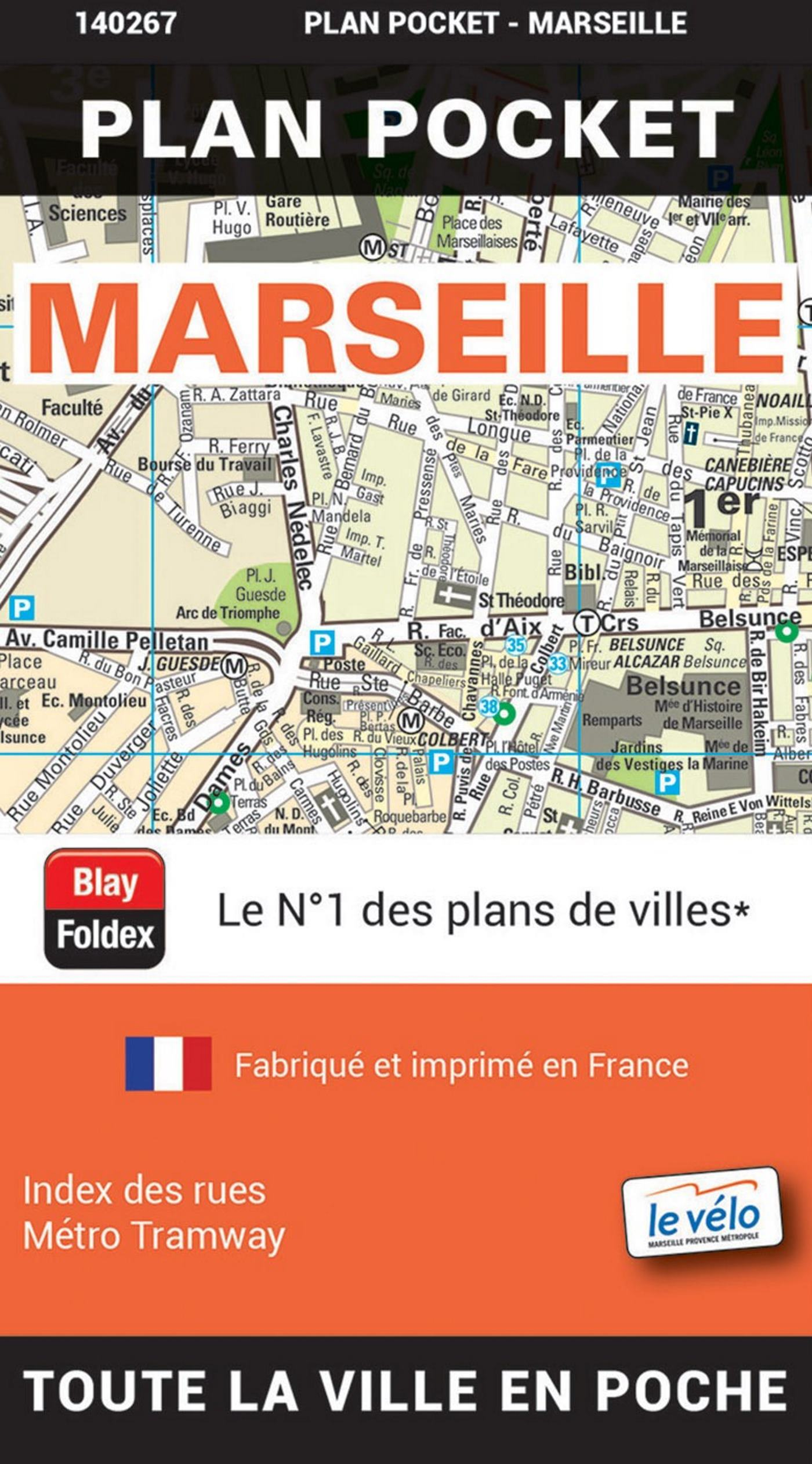 MARSEILLE PLAN POCKET