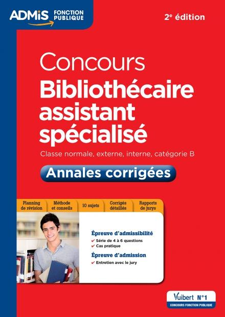 BIBLIOTHECAIRE ASSISTANT SPECIALISE
