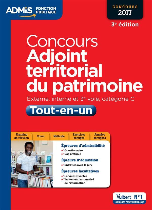 CONCOURS ADJOINT TERRITORIAL DU PATRIMOINE - TOUT-EN-UN