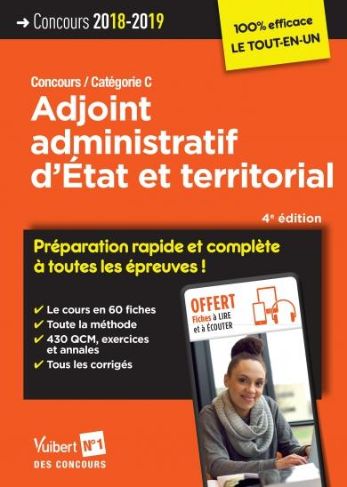 CONCOURS ADJOINT ADMINISTRATIF D'ETAT ET TERRITORIAL