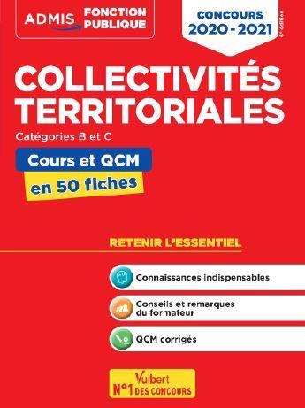 COLLECTIVITES TERRITORIALES CONCOURS 2020-2021 COURS ET QCM