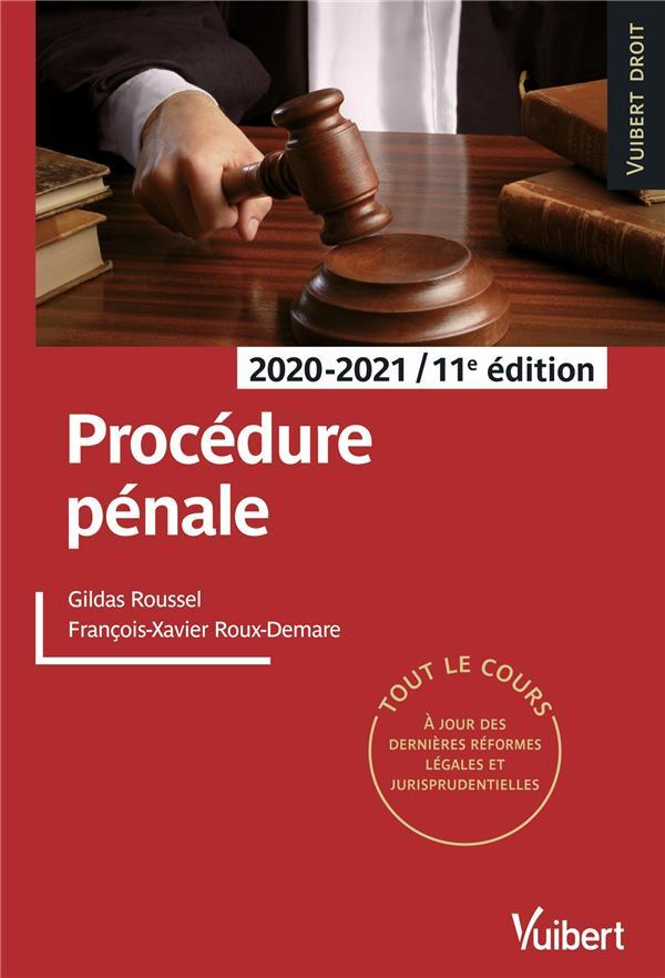 PROCEDURE PENALE 2020/2021