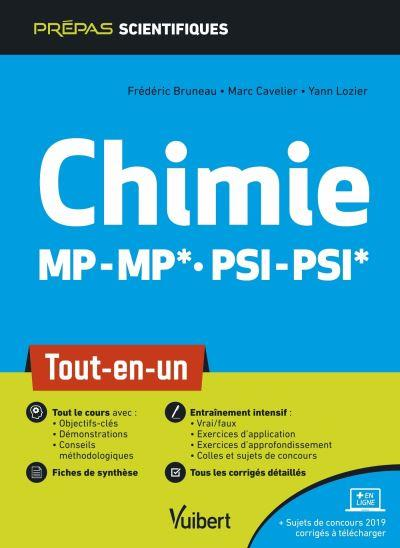 CHIMIE MP/MP PSI/PSI