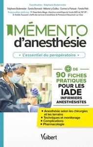 FICHES PRATIQUES D'ANESTHESIE (IADE)