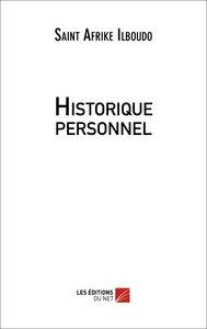 HISTORIQUE PERSONNEL