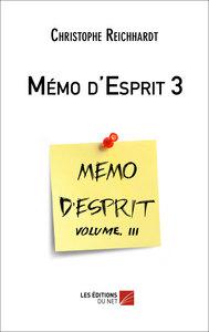 MEMO D'ESPRIT 3