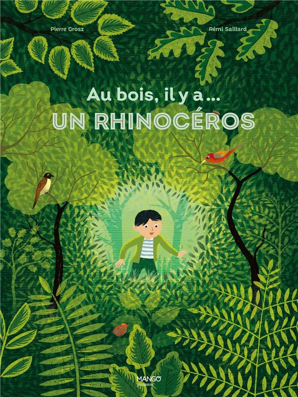 Au bois, il y a... un rhinoceros