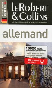LE ROBERT & COLLINS POCHE+ ALLEMAND-FRANCAIS - FRANCAIS-ALLEMAND