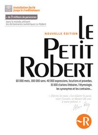 LE PETIT ROBERT 1 2014 COFFRET NUMERIQUE