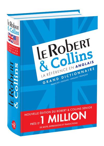 LE ROBERT ET COLLINS LA REFERENCE EN ANGLAIS - FR/ANG-AGN/FR