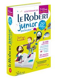 LE ROBERT JUNIOR POCHE PLUS 7-11 ANS - CE-CM-6EME