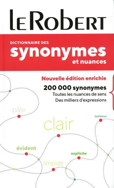 Dictionnaire des synonymes et nuances - poche+