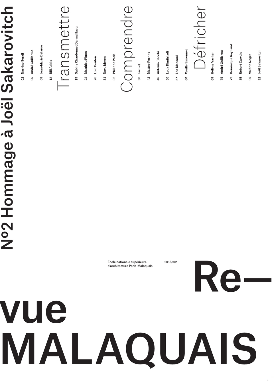 RE-VUE MALAQUAIS N 2