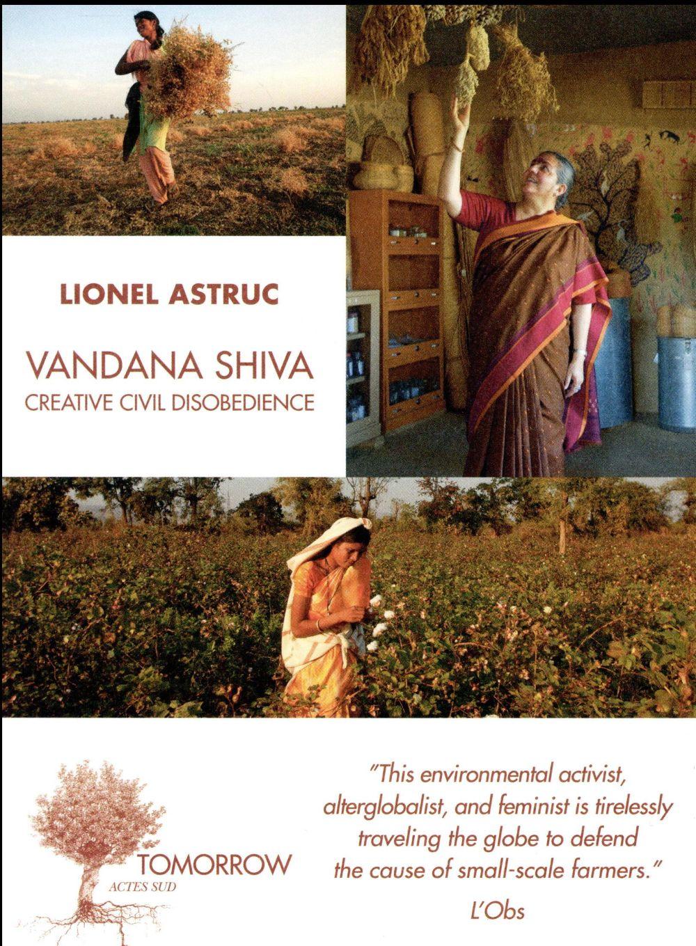 VANDANA SHIVA CREATIVE CIVIL DISOBEDIENCE EN ANGLAIS