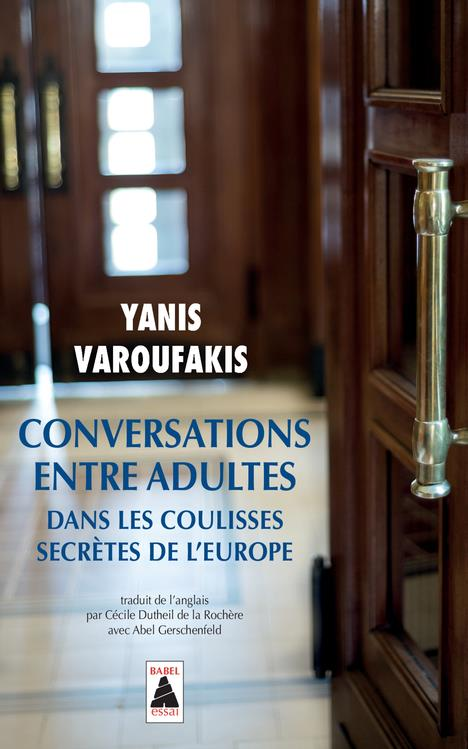 Conversations entre adultes (babel) - dans les coulisses secretes de l'europe