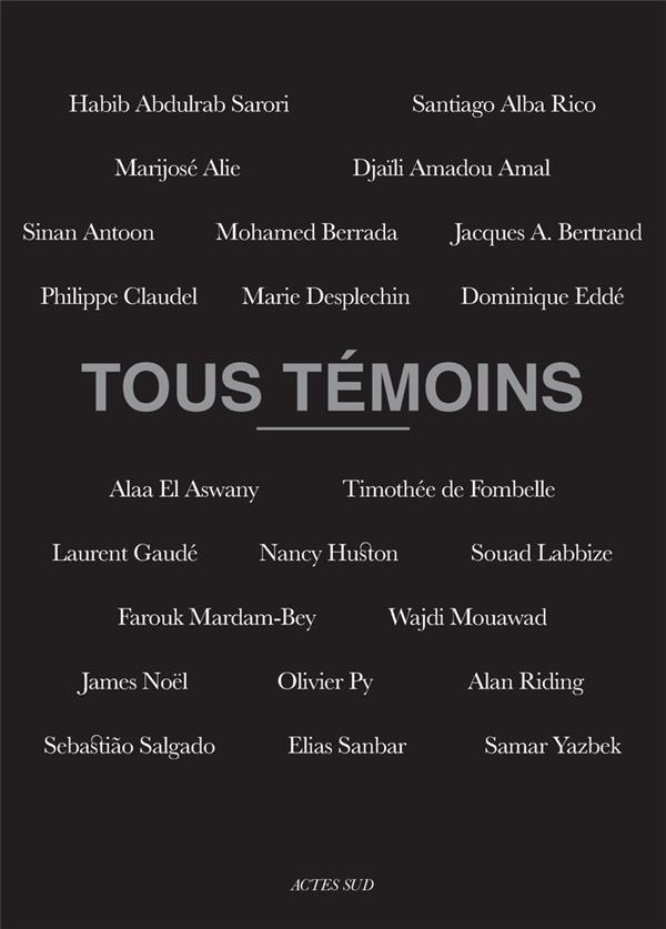 TOUS TEMOINS