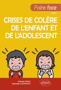 FAIRE FACE AUX CRISES DE COLERE DE L ENFANT ET DE L'ADOLESCENT