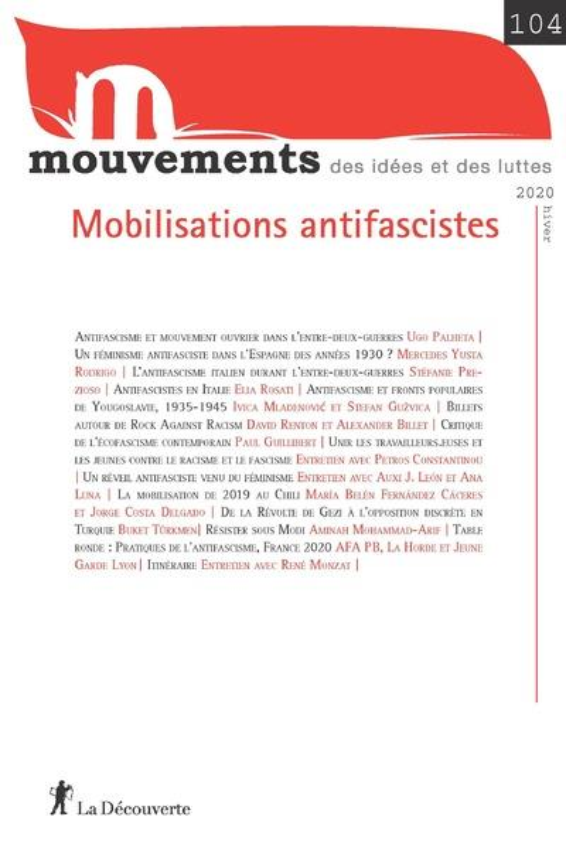 MVT 104 : MOBILISATIONS ANTIFASCISTES