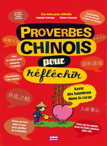 PROVERBES CHINOIS POUR REFLECHIR